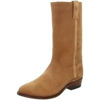 Chaussures Homme Bottes ville Pallas Cuir Bottes gardian en cuir  sélection ref_sen26366-naturel Marron