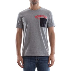 Vêtements Homme T-shirts manches courtes Dondup US253 JF194U T-SHIRT Homme GREY HEATHER GREY HEATHER