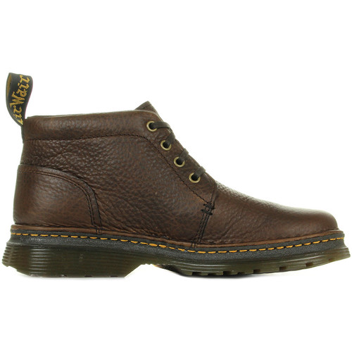Chaussures Boots Dr Martens Lea Dark Brown Grizzly marron