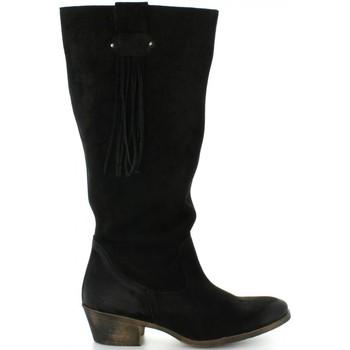 Chaussures Femme Bottes ville MTNG 94022 Negro