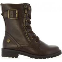 Chaussures Femme Bottes ville MTNG 45552 Marr?n