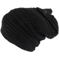 Accessoires textile Homme Bonnets Nyls Création Bonnet Tube noir uni Jaica Rasta Noir