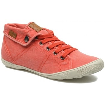 Chaussures Femme Baskets mode Palladium Basket Gaetane Twl orange