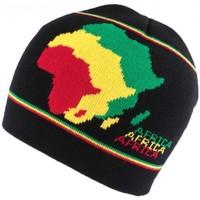 Accessoires textile Homme Bonnets Nyls Création Bonnet court Noir Afrique Noir