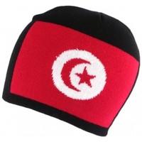 Accessoires textile Homme Bonnets Nyls Création Bonnet Turquie Noir et Rouge Noir