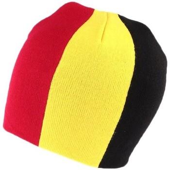 Accessoires textile Homme Bonnets Nyls Création Bonnet Drapeau Belgique Rouge