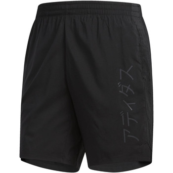 Vêtements Homme Shorts / Bermudas adidas Performance Short Supernova TKO Climacool Graphic Noir / Gris
