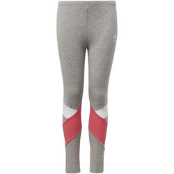 Vêtements Fille Leggings adidas Originals Legging Gris / Blanc