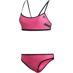 Vêtements Femme Maillots de bain 2 pièces adidas Performance Bikini Solid Beach Volleyball Rose / Noir