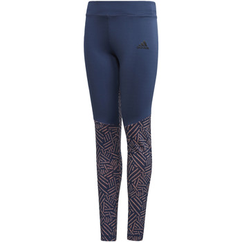 Vêtements Fille Leggings adidas Performance Tight Training blue