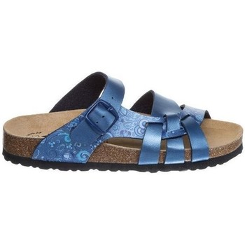Chaussures Mules Lico Flower Bleu