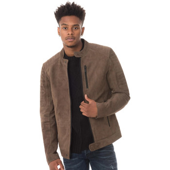 Vêtements Homme Vestes en cuir / synthétiques Antony Morato MMC00034 COL2052 COFFEE Marron