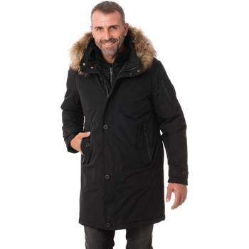 Vêtements Homme Vestes / Blazers Aeronautica Militare PARKA AB1600CT2141 NERO 0101 Noir