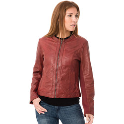 Vêtements Femme Vestes en cuir / synthétiques Deercraft DAHLIA 2 SNWV PAPRIKA Rouge