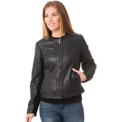 Vêtements Femme Vestes en cuir / synthétiques Deercraft DAHLIA 2 SNWV BLACK Noir