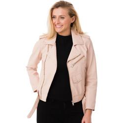 Vêtements Femme Blousons Cityzen LEEDS LIGHT PINK Rose