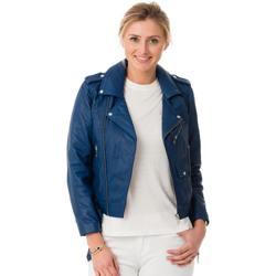Vêtements Femme Blousons Cityzen LEEDS ROYAL BLUE Bleu