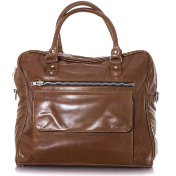 Sacs Homme Sacs à dos Serge Pariente SAC SP TWO OXBLOOD Marron