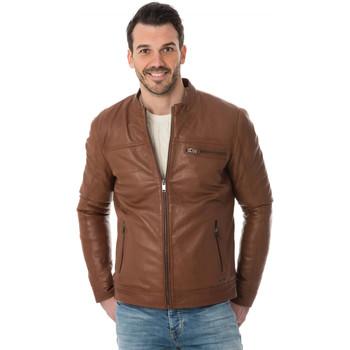 Vêtements Homme Blousons Cityzen SAN DIEGO COGNAC Cognac
