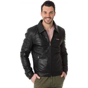 Vêtements Homme Blousons Cityzen CLEVELAND BLACK Noir