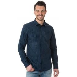 Vêtements Homme Chemises manches longues Scotch & Soda 136301 221 Bleu