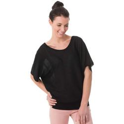 Vêtements Femme Débardeurs / T-shirts sans manche Kaporal FILOU BLACK Noir