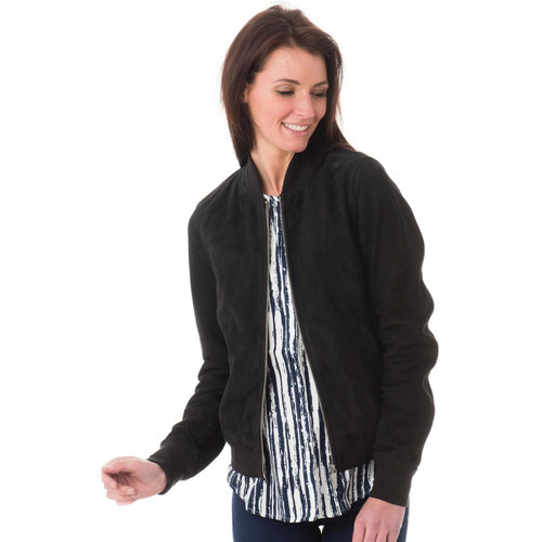 Vêtements Femme Vestes en cuir / synthétiques Oakwood WINGS BLEU MARINE 534 ZZ Bleu marine