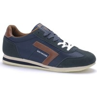 Chaussures Homme Baskets mode Chaussures Redskins TRIOLO MARINE COGNAC Bleu