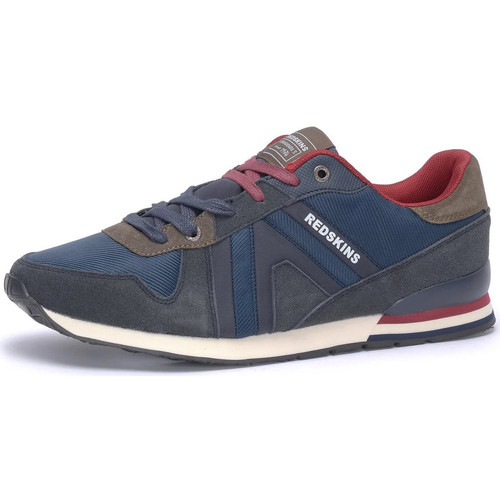 Chaussures Homme Baskets mode Chaussures Redskins WORM MARINE TAUPE Bleu