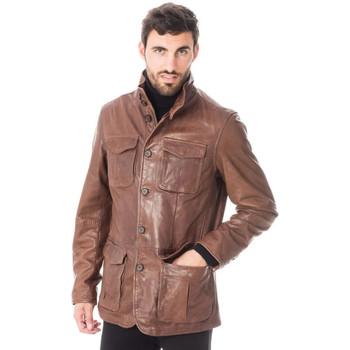 Vêtements Homme Vestes en cuir / synthétiques Daytona SPEED SHEEP TIGER BISON Bison