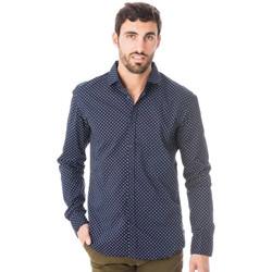 Vêtements Homme Chemises manches longues Scotch & Soda 101423 2C Bleu