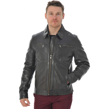 Vêtements Homme Vestes en cuir / synthétiques Daytona 73 WASHINGTON SHEEP TIGER REDD BROWN Marron