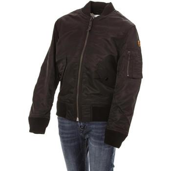 Vêtements Enfant Doudounes Schott JKTACB BLACK Noir