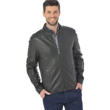 Vêtements Homme Vestes en cuir / synthétiques Mauritius RODAN LAHAV BLACK Noir