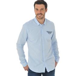 Vêtements Homme Chemises manches longues Scotch & Soda 130706 50 Bleu