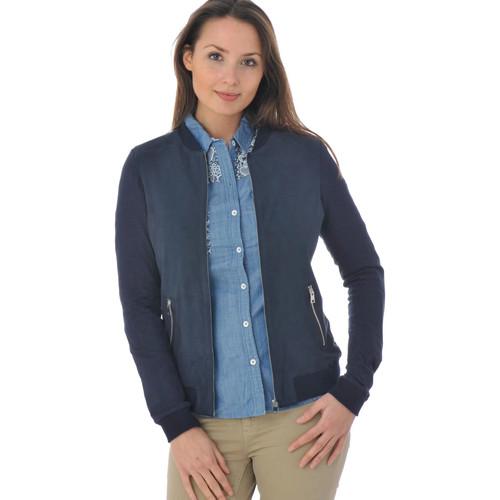 534 Oakwood Femme Bleu BLEU 00 Vêtements Blousons 159 MARINE IRIS qZPZrtB