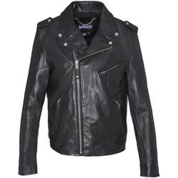 Vêtements Homme Vestes en cuir / synthétiques Schott LC1140ICON BLACK X Noir