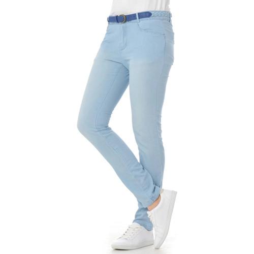 Vêtements Femme Pantalons Kaporal RAWA LIGHT DENIM Bleu