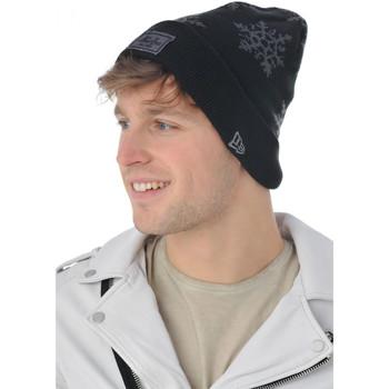 Accessoires textile Homme Bonnets New Era HOLIDAY SNOW NEWERA BLKGRH 4063 Noir