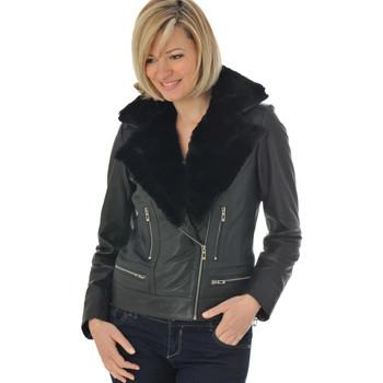 Vêtements Femme Vestes en cuir / synthétiques Mornington SHERPA BLACK Noir