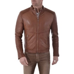 Vêtements Homme Vestes en cuir / synthétiques Mornington EMERINO SHEEP COGNAC ZZ Cognac