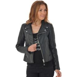 Vêtements Femme Vestes en cuir / synthétiques Schott LCW8615CC LIMITED EDITION Noir