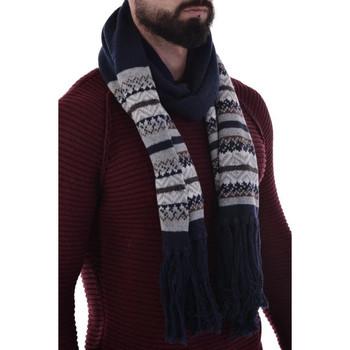 Accessoires textile Homme Echarpes   Etoles   Foulards Kaporal LEASH NAVY  H15 Bleu 7b04b6463ef