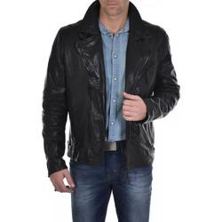 Vêtements Homme Vestes en cuir / synthétiques Mauritius BOND 2 SF LVW BLACK Noir