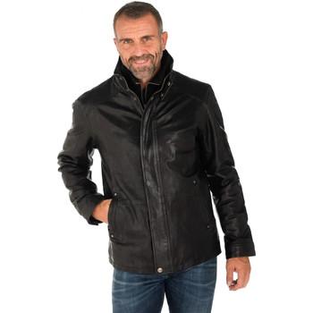 Vêtements Homme Vestes en cuir / synthétiques Daytona 73 GLOSTER+IC SHEEP TIGER BLACK Noir