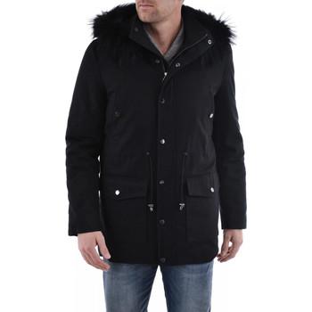 Vêtements Homme Manteaux Serge Pariente DANDY BLACK Noir