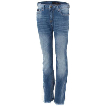 Vêtements Enfant Jeans Kaporal ALBOR FRIPE JFRI Bleu