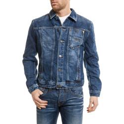 Vêtements Homme Vestes en jean Antony Morato MMCO00152/007/W288 Bleu