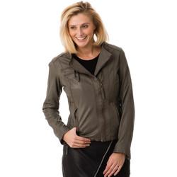 Vêtements Femme Vestes en cuir / synthétiques Serge Pariente F2 GRIS Gris