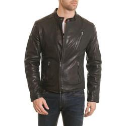 Vêtements Homme Vestes en cuir / synthétiques Daytona 73 CHRIS LAMB HARVEY BLACK ZZ Noir